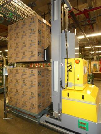 agvs pallet stacker